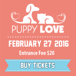 4th Annual Puppy Love Fundraiser