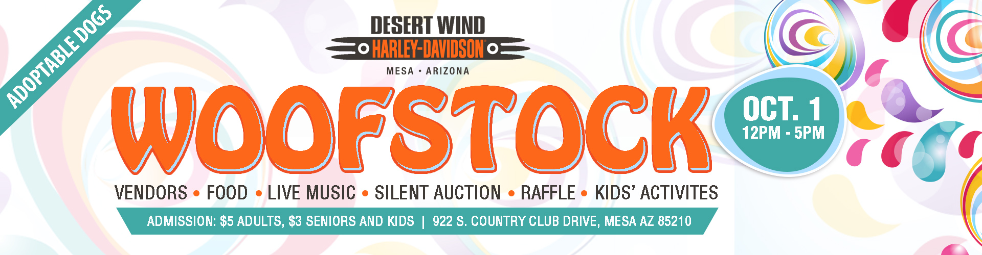 Woofstock at Desert Winds Harley Davidson